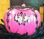 pink pumpkin Terri O