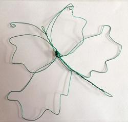 wire-butterfly