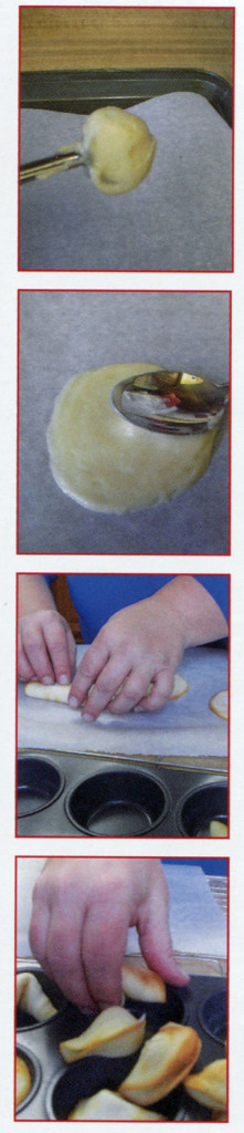 baked fortune cookies